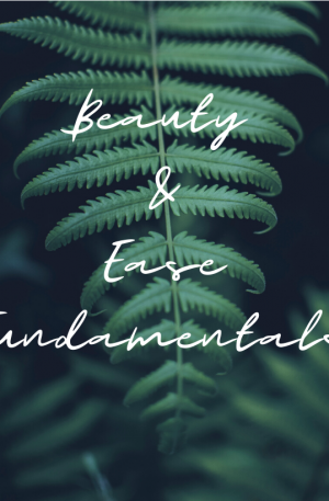 (Pre-Register) Beauty & Ease Fundamentals
